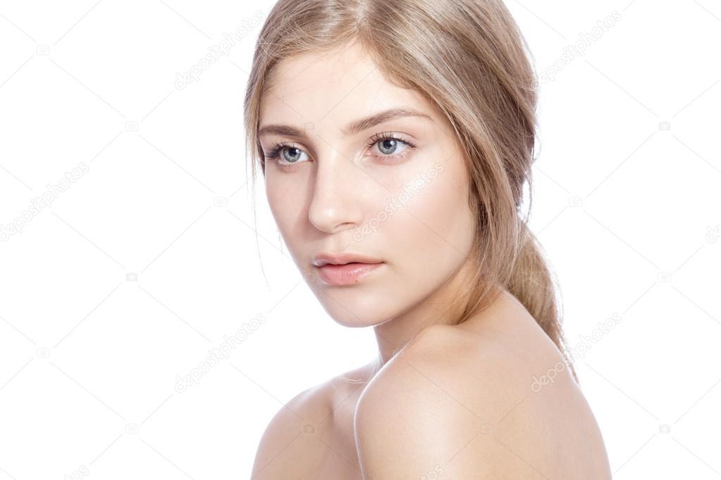 naturlig vit blond