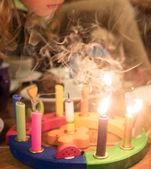 Childrens verjaardag — Stockfoto