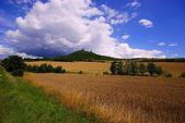 Czech republic, castle Hazmburk — Stock Photo