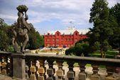 Tjeckien, slottet Klasterec nad Ohri — Stockfoto