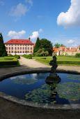Czech republic, castle Libochovice — 图库照片