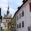 Sighisoara Tower Clock — Stock Video #63804591