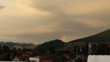 Rising Real Rainbow — Stock Video