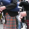 Traditional Scottish Bagpipes Singing — Stock Video #63811429