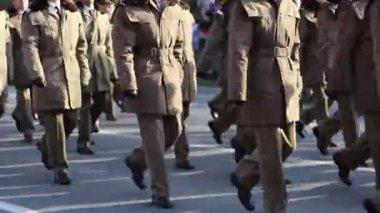 Army Parade — Stock Video