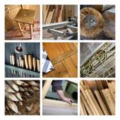 Wood and joinery — Stock Photo