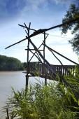 Fisherman deck — Стоковое фото