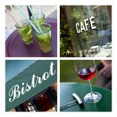 Cafe and bistro ambiance — Stock Photo
