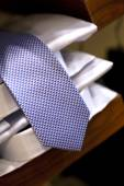 Tie and shirts — Stock Photo