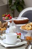 Francuskie śniadanie — Zdjęcie stockowe