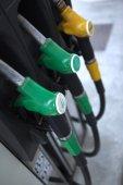 Benzin pompaları — Stok fotoğraf