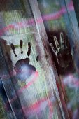 Hand prints — Stock Photo