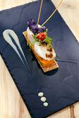 Crustacean dish — Stock Photo
