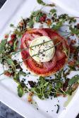 Tomato tart — Stock Photo