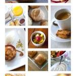 Cakes and desserts — Stockfoto #76031613