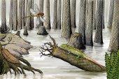 Devonian wildlife — Stock Photo
