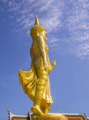 Standing Buddha,Bangkok,Thailand — Foto de Stock