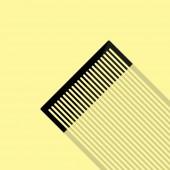 Comb icon design — Stock Vector