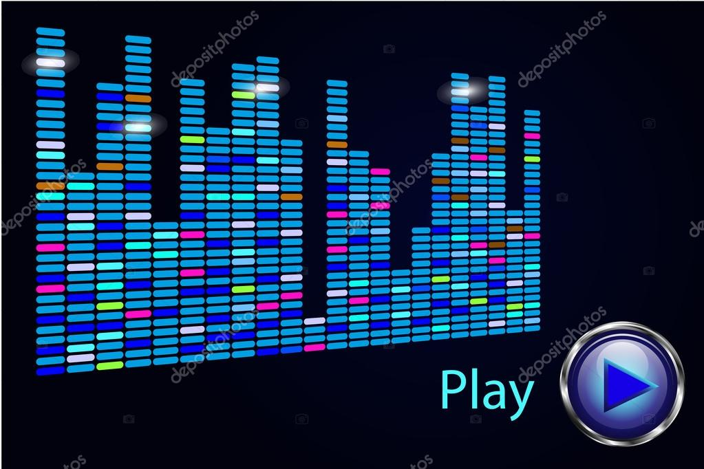 Music player background — Stock Vector © OPTI_mistka #62059483