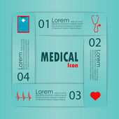 Infographics medical signs — Vetorial Stock