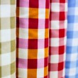 Rolls of colorful fabric — Stock Photo #78850836