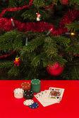 Gamble by Christmas — Stock Photo