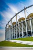 The modern building of National Arena in Bucharest — Stock Photo