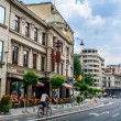 Постер, плакат: BUCHAREST ROMANIA AUGUST 30: Capsa Hotel on AUGUST 30 2015 in Bucharest Romania