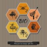 Set honey labels 2 — Stock Vector #61411047