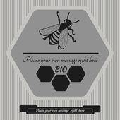 Emblem for  honey 10 — Stock Vector