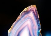 Slice of agate — Foto de Stock