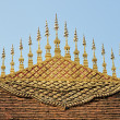 Gable apex of Luang Prabang temple roof — Stock Photo #64031073