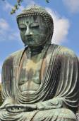The Great Buddha (Daibutsu) at  Kotokuin Temple in Kamakura, Jap — Stock Photo