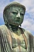 The Great Buddha (Daibutsu) at  Kotokuin Temple in Kamakura, Jap — Stock Photo