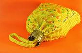 Vintage handbag embroidered with beads — Stock fotografie