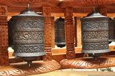 Dzwony tybetańskie modlitwy — Zdjęcie stockowe
