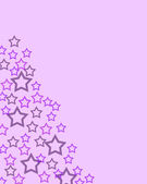 Abstract star template, pink background with star pattern. Beautiful background for birthday, greeting cards. Pattern seamless, stars. Colorfull abstract background. Greeting card design. — Stock Photo