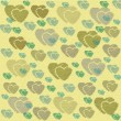 Abstract love sweet heart for greeting, valentines day card, retro background. Greeting cards love heart background. Love sweet hearts shape for greeting, love retro, vintage pattern, background. — Stock Photo #64655765