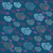 Abstract love sweet heart for greeting, valentines day card, retro background. Greeting cards love heart background. Love sweet hearts shape for greeting, love retro, vintage pattern, background. — Stock Photo