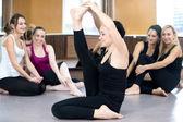 瑜伽练习 — 图库照片
