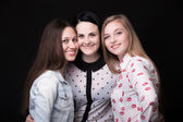 Best friends happy smiling together — Stockfoto