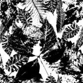 Seamless pattern, Autumn leaves — Stock Vector