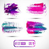 Grunge brush strokes — Stock Vector