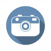 Photo camera icon — Stock Vector