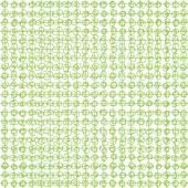 Green seamless ornament pattern — Vector de stock