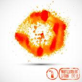 Abstract spray blots — Stok Vektör