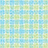 Transparente motif tribal — Vecteur