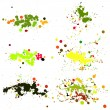 Blot, Splashes, Stains Set — Stock Vector #63868667