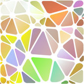 Triangular abstract multicolored  background — Stock Vector