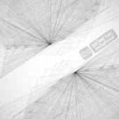 Technology  geometric background — Stock Vector